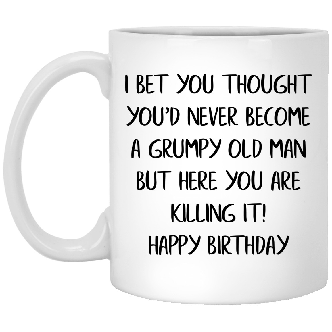 Top 3 Become A Grumpy Old Man Funny Quote Coffee Mug Thsclothing